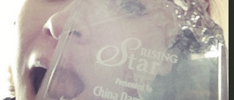 "China Krys Darrington Wins the 2014 OCWTP ""Rising Star"" Award"